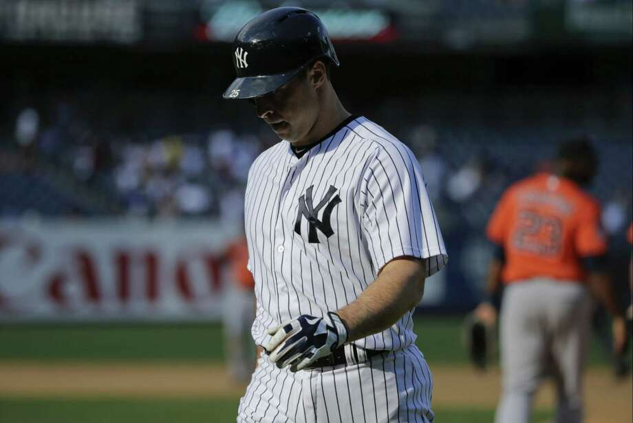 The Associated Press file photo  Mark Teixeira has been sent back to New York for further tests on his bruised right shin. Photo: AP / AP