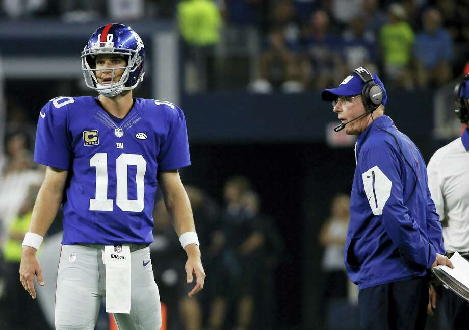 Giants coach Tom Coughlin didn't answer a question Thursday on whether he wants to return next year or not. Photo: Tony Gutierrez — The Associated Press File Photo   / AP