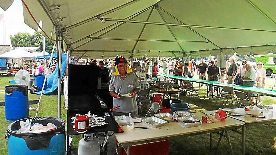 More than 1,000 people attended the Labor Day Fest at St. Jude Church last year. Photo: Contributed Photo