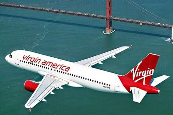 Travelzoo Virgin American plane