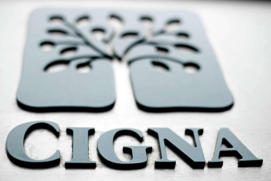 The logo at the headquarters of the health insurer Cigna Corp. in Philadelphia. Photo: AP Photo/Matt Rourke, File   / AP