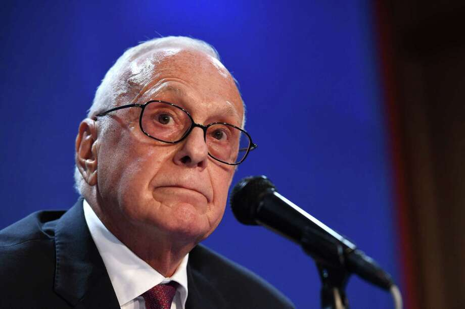 SMU menís basketball head coach Larry Brown listens to a reporter's question during a news conference on the SMU campus, Tuesday, Sept. 29, 2015, in Dallas. Brown addressed NCAA sanctions levied Tuesday against the SMU men's basketball program. (AP Photo/Jeffrey McWhorter) Photo: AP / FR170451 AP