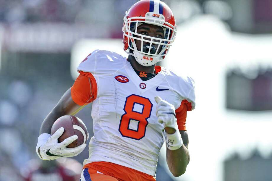 Clemson coach Dabo Swinney said Wednesday that he has sent three players, including receiver Deon Cain, home from the Orange Bowl for violating team rules. Photo: Richard Shiro — The Associated Press File Photo   / FR159523 AP