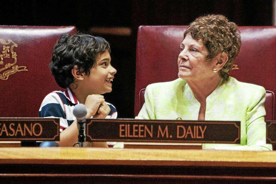 State Senate Democrats Former state Sen. Eileen Daily Photo: Journal Register Co.