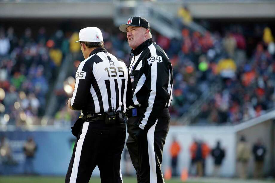 Poor officiating has been a problem this season in the NFL. The Register's Chip Malafronte has a few suggestions to help fix the problems including urging referees to follow the basic principle of calling it as you see it. Photo: The Associated Press File Photo   / AP