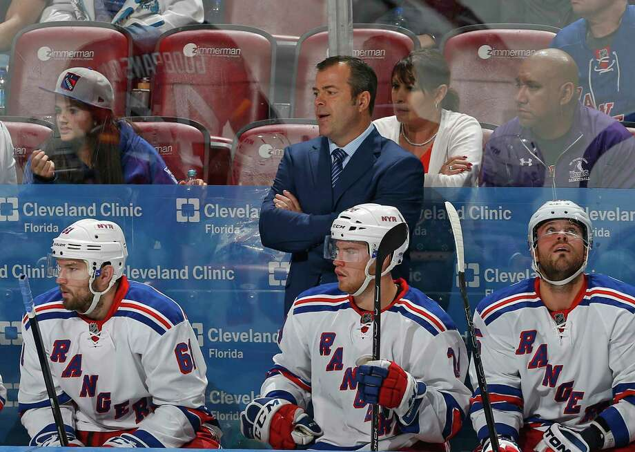 Rangers coach Alain Vigneault  criticized Bruins coach Claude Julien for making disparaging comments about New York goaltender Henrik Lundqvist following Boston's 4-3 win over the Rangers on Friday. Photo: The Associated Press File Photo   / FR170673 AP