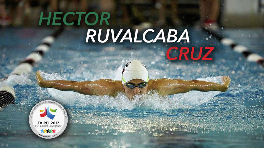 A University of Incarnate Word swimmer Hector Ruvalcaba Cruz, a sophomore, will represent Mexico in the 2017 World University Games later this summer. Photo: Courtesy