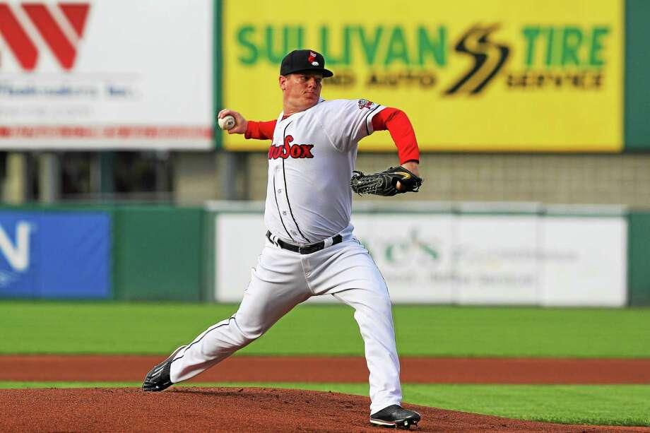 Farmington native Shawn Haviland is keeping his major league dreams alive in Pawtucket. Photo: Photo Courtesy Of Pawtucket Red Sox