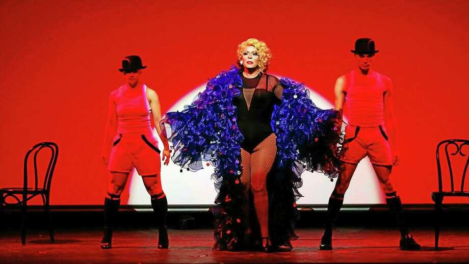 Sassie Saltimboca performing at the Bijou Theatre in Bridgeport. Photo: CONTRIBUTED PHOTO — Kenn Hopkins