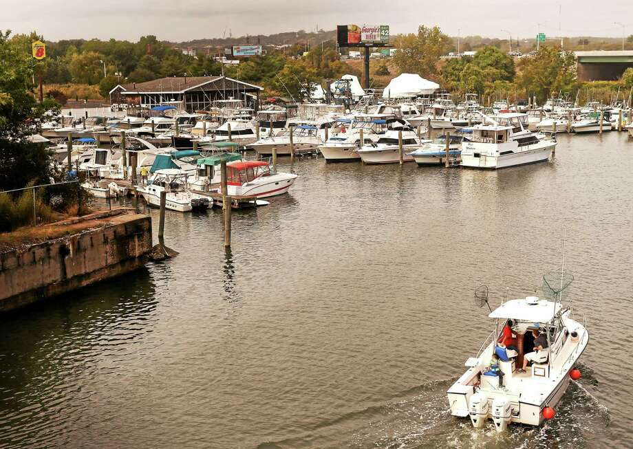 West Cove Marina in West Haven on Tuesday. The City Point Yach Club has purchased the marina. Photo: Peter Hvizdak — New Haven Register   / ©2015 Peter Hvizdak
