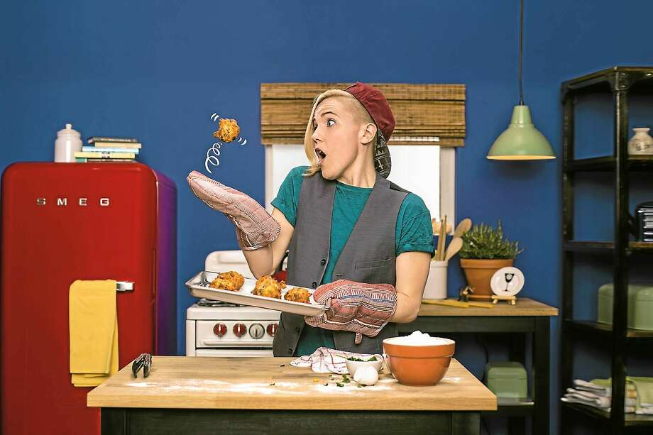 """Hannah Hart of """"My Drunk Kitchen"""" has more YouTube subscribers than Jamie Oliver, Martha Stewart and Mario Batali combined. Photo: Jeff Minton - """"My Drunk Kitchen""""   / THE WASHINGTON POST"""