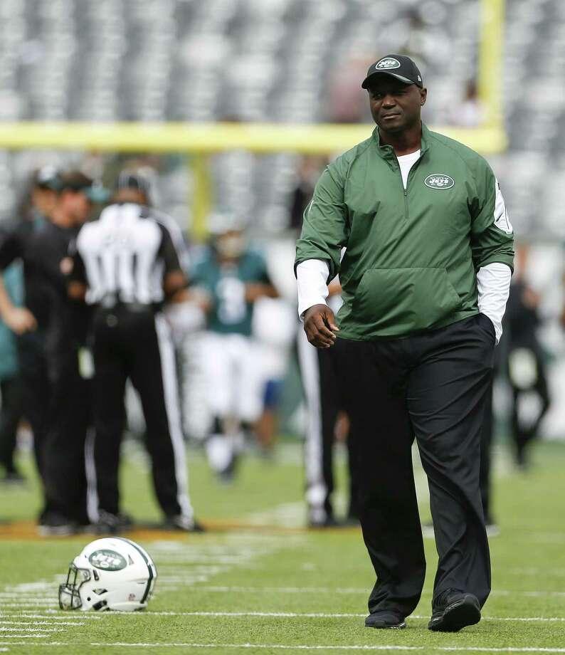 Jets head coach Todd Bowles. Photo: Adam Hunger — The Associated Press   / FR110666 AP