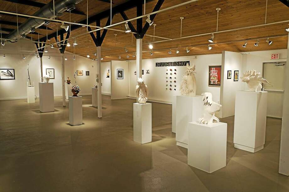 Contributed  The Guilford Art Center gallery. Photo: Journal Register Co.