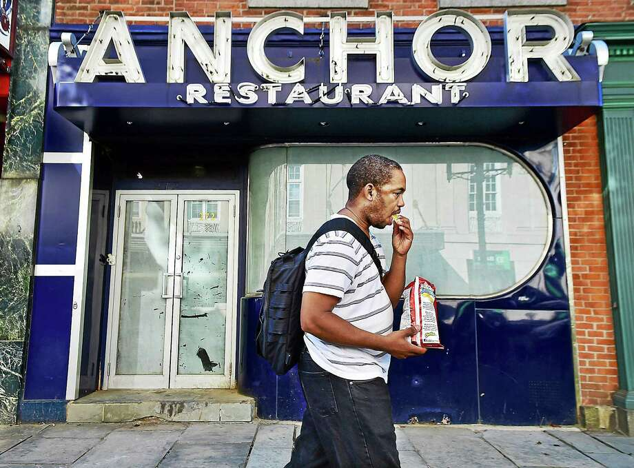 The shuttered Anchor Restaurant & Bar at 272 College St. in New Haven will reopen this fall. Photo: Catherine Avalone — New Haven Register     / New Haven RegisterThe Middletown Press