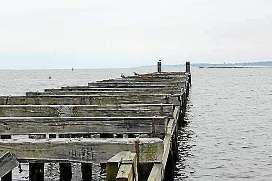 Fort Nathan Hale fishing pier. Photo: Contributed Photo