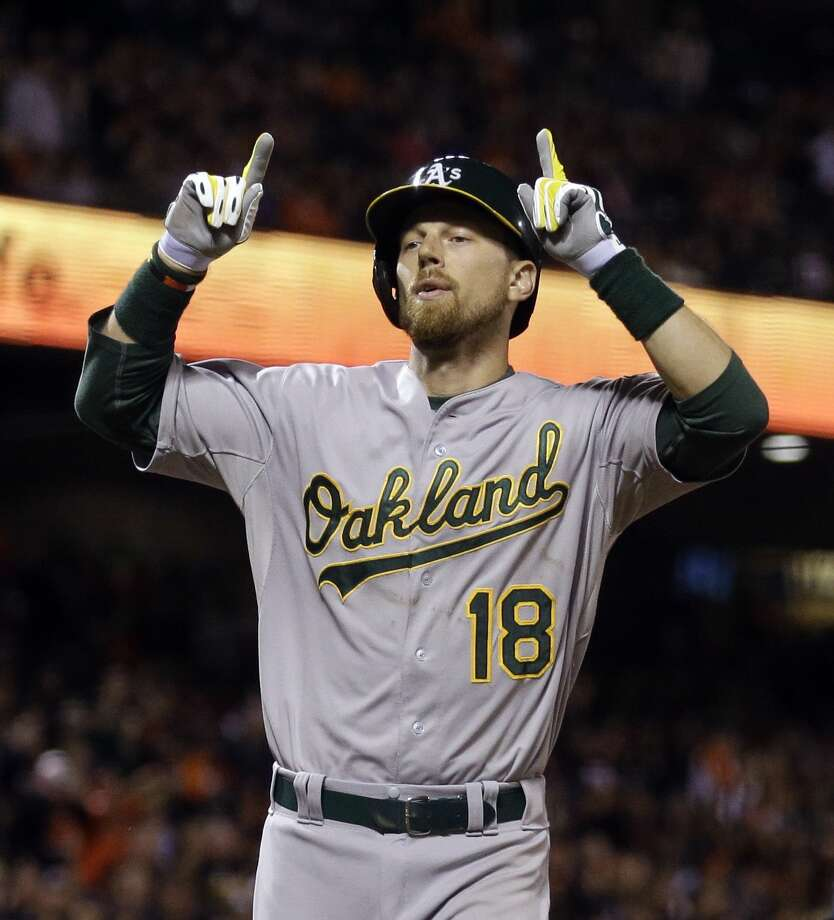 The Oakland Athletics traded Ben Zobrist to the Kansas City Royals on Tuesday. Photo: Ben Margot — The Associated Press   / AP
