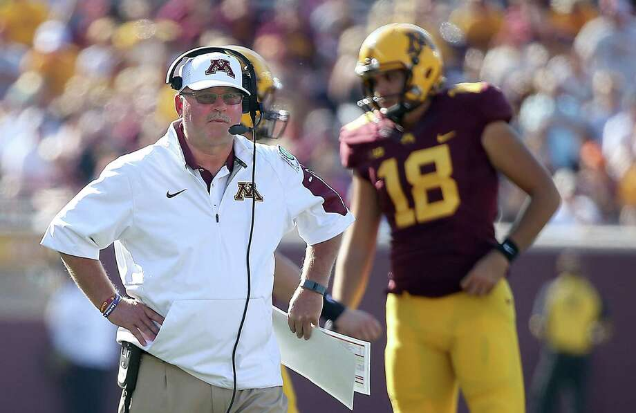 University of Minnesota football coach Jerry Kill abruptly retired because of health reasons on Wednesday. Photo: Elizabeth Flores — Star Tribune   / Star-Tribune