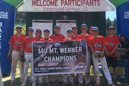 Midland's West Texas Edge, a 14-under baseball team, won the Triple Crown Wold Series over the weekend in Steamboat Springs, Colo. Team members are Gage Jordan, Rhett Clark, Hayden Westenberg, Cody Grebeck, Michael Widener, Tripp Pennington, Andrew Flatt, Luke Greenlee, Case Thompson, Kyler Wagaman and Taylor Calcote. Courtesy photo