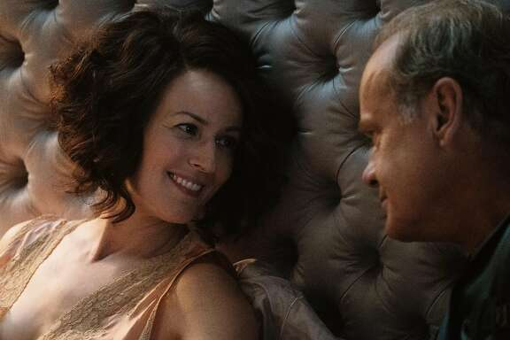 The Last Tycoon stars. from left to right, Rosemarie DeWitt as Rose Brady and Kelsey Grammer as Pat Brady