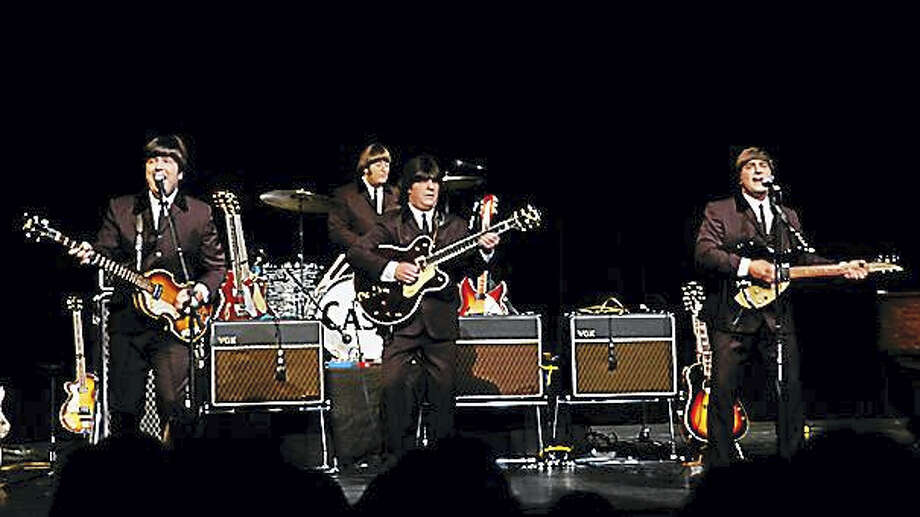 Contributed  The cast of Beatlemania. Photo: Journal Register Co.