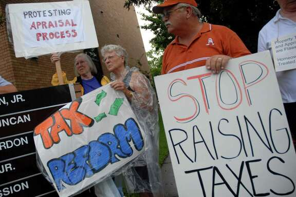 Texas' deeply flawed mass appraisal process is a major driver of the rapid increase in tax bills. (Chronicle file photo)