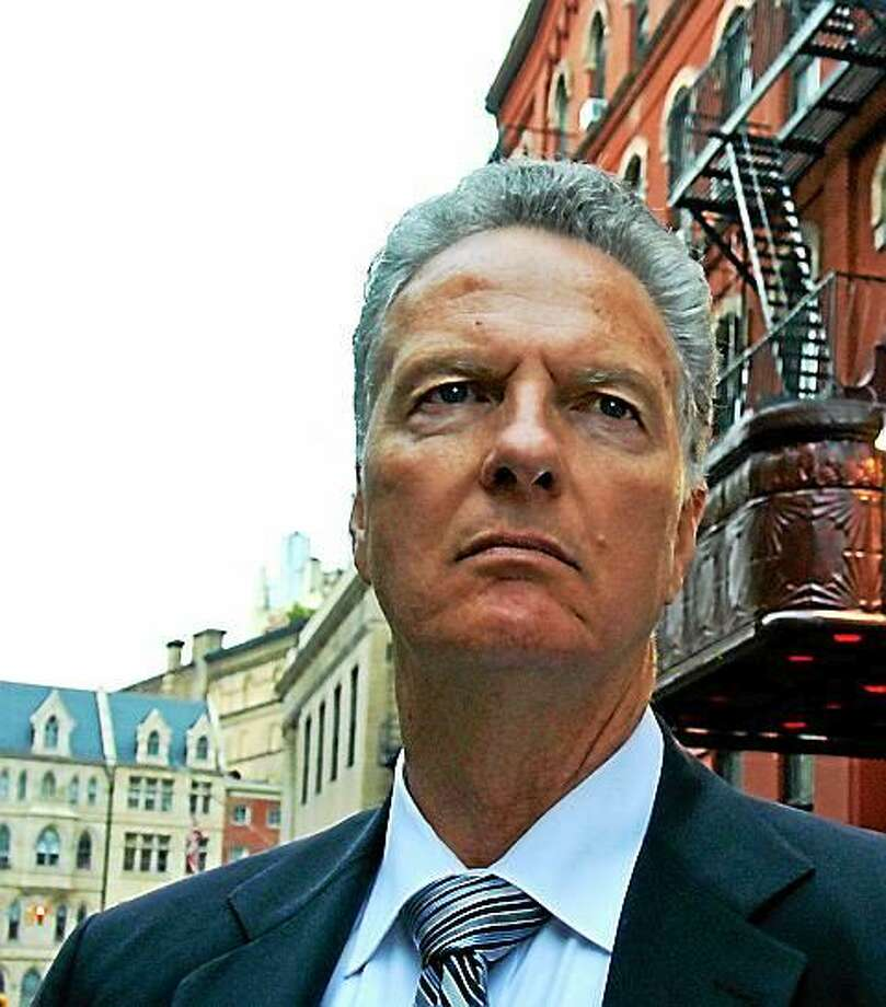 Ray Wiederhold, former Brandord deputy police chief, moved to New York after retiring and became an actor. Photo: Contributed Photo