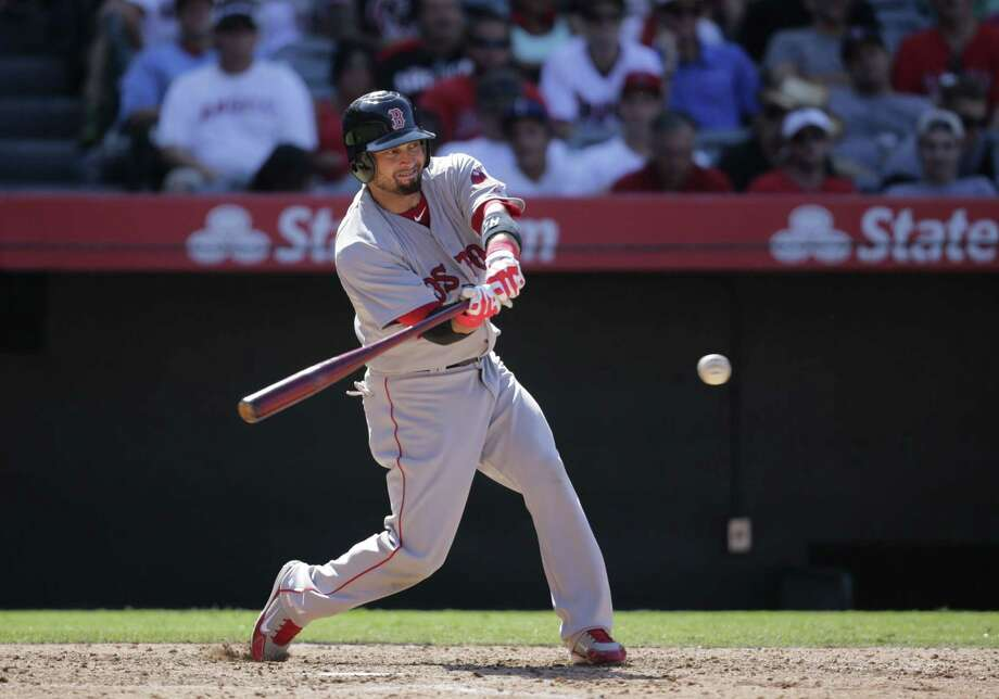 The Boston Red Sox traded outfielder Shane Victorino to the Los Angeles Angels on Monday. Photo: Jae C. Hong — The Associated Press   / AP
