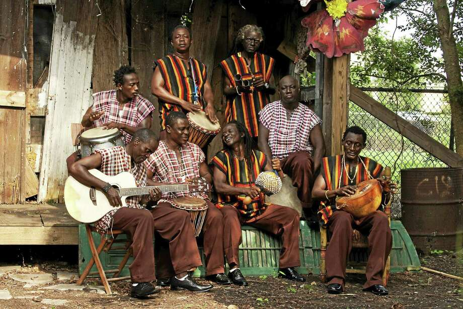 Sierra Leone's Refugee All Stars return to Connecticut for a show in Hartford Sunday night. Photo: Zach Smith