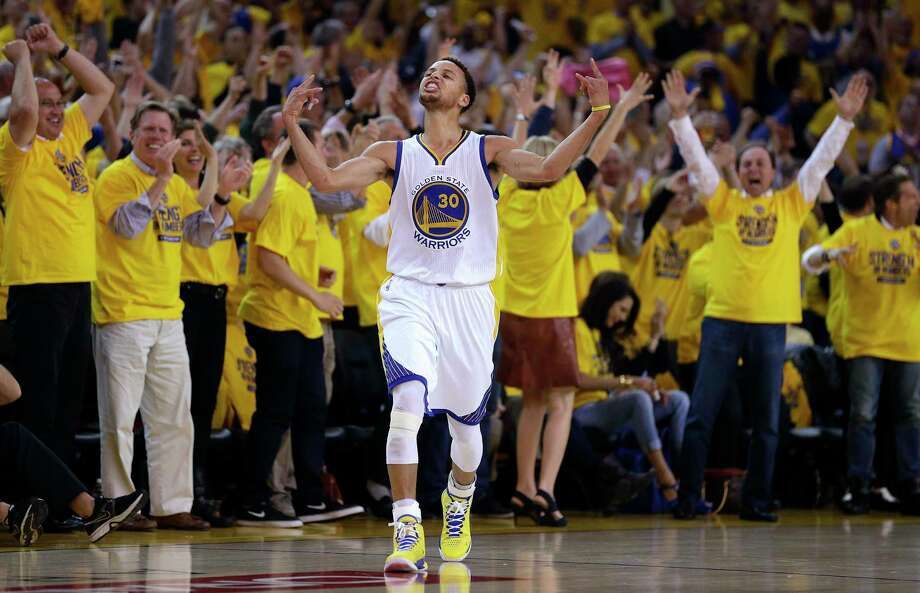 Stephen Curry has been named The Associated Press 2015 Male Athlete of the Year. Photo: The Associated Press File Photo   / AP