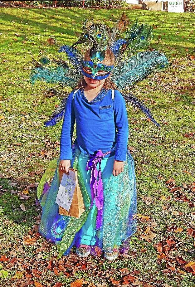 Claire Waggoner in costume. Photo: Contributed