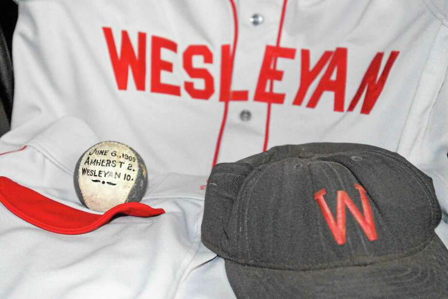 The Wesleyan and Yale baseball teams will meet tonight at Yale Field for the 150th anniversary of a game the schools played on September 30, 1865. Photo: Jimmy Zanor — The Middletown Press