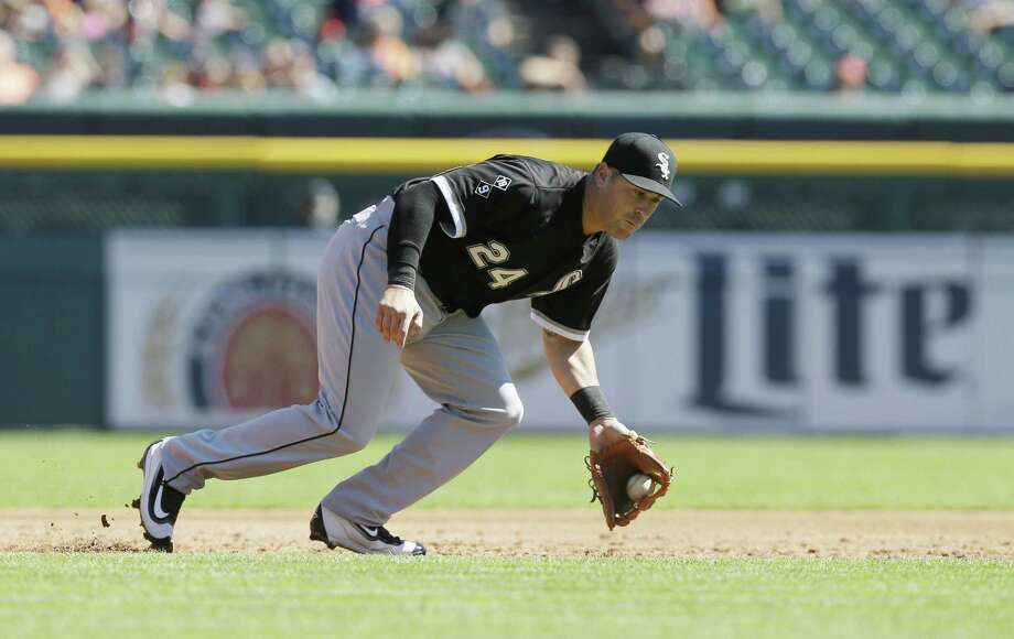Chicago White Sox third baseman Mike Olt. Photo: The Associated Press   / AP