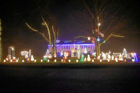Joe's Amazing Lights in Guilford helps make wishes come true