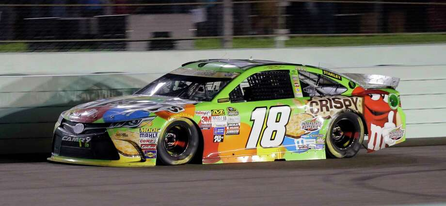 Kyle Busch won his first career Sprint Cup title just nine months after a serious crash at Daytona nearly ended his season. Photo: Terry Renna — The Associated Press   / FRE60642 AP