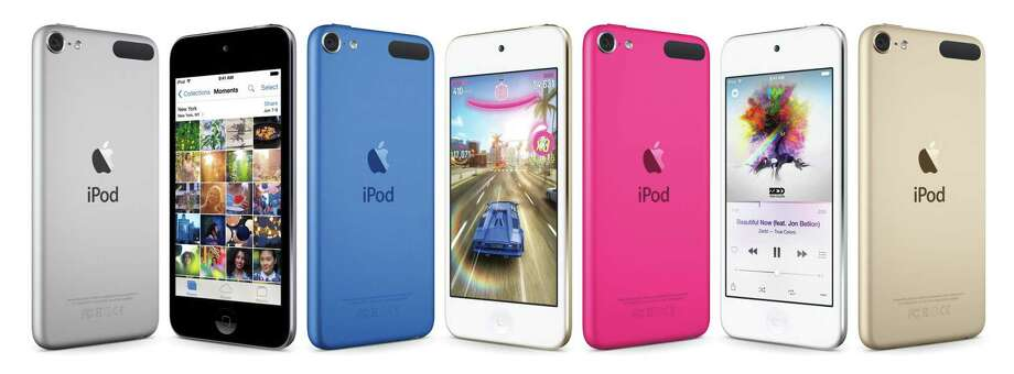 This composite product image provided by Apple shows varieties of the new iPod Touch. Photo: Apple Via AP   / Apple