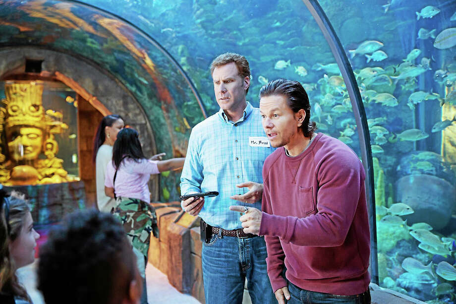 """Mark Wahlberg, right, as Dusty Mayron and Will Ferrell as Brad Whitaker, in """"Daddy's Home."""" Photo: Patti Peret - Paramount Pictures   / Paramount Pictures"""