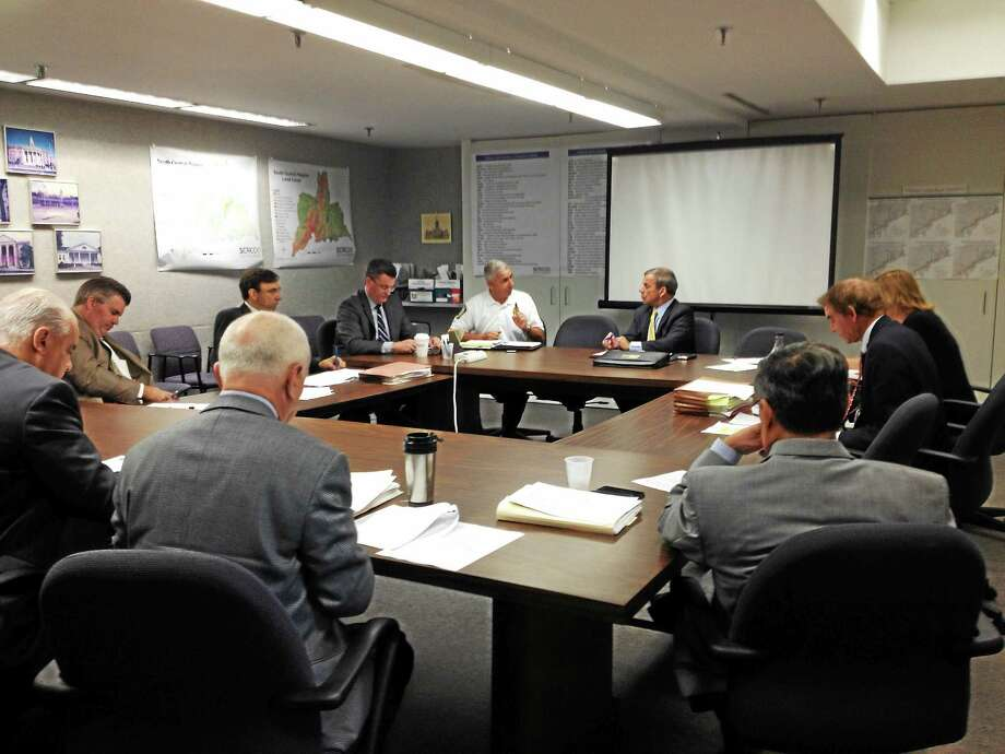 The CMED board meets Thursday morning in North Haven. Photo: Mark Zaretsky — New Haven Register
