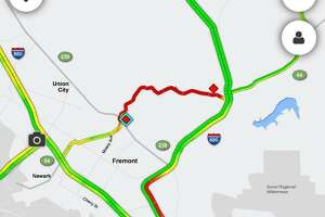 A deadly crash closed a section of Niles Canyon Road between Fremont and Sunol on Monday afternoon.