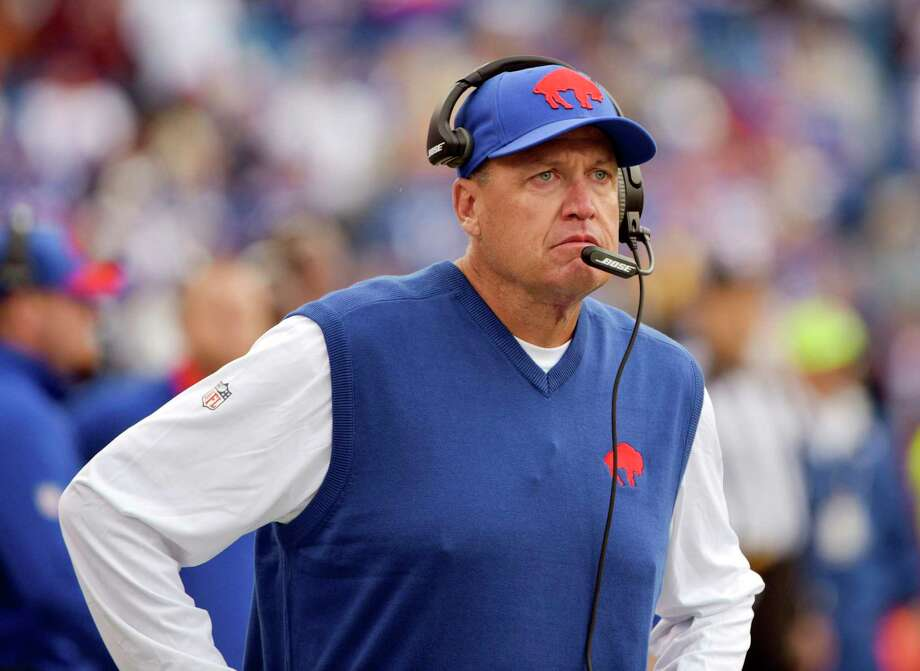 The Register's Dan Nowak believes Rex Ryan and the Bills will bounce back Sunday in London against the Jaguars. Photo: The Associated Press File Photo   / FR170498 AP