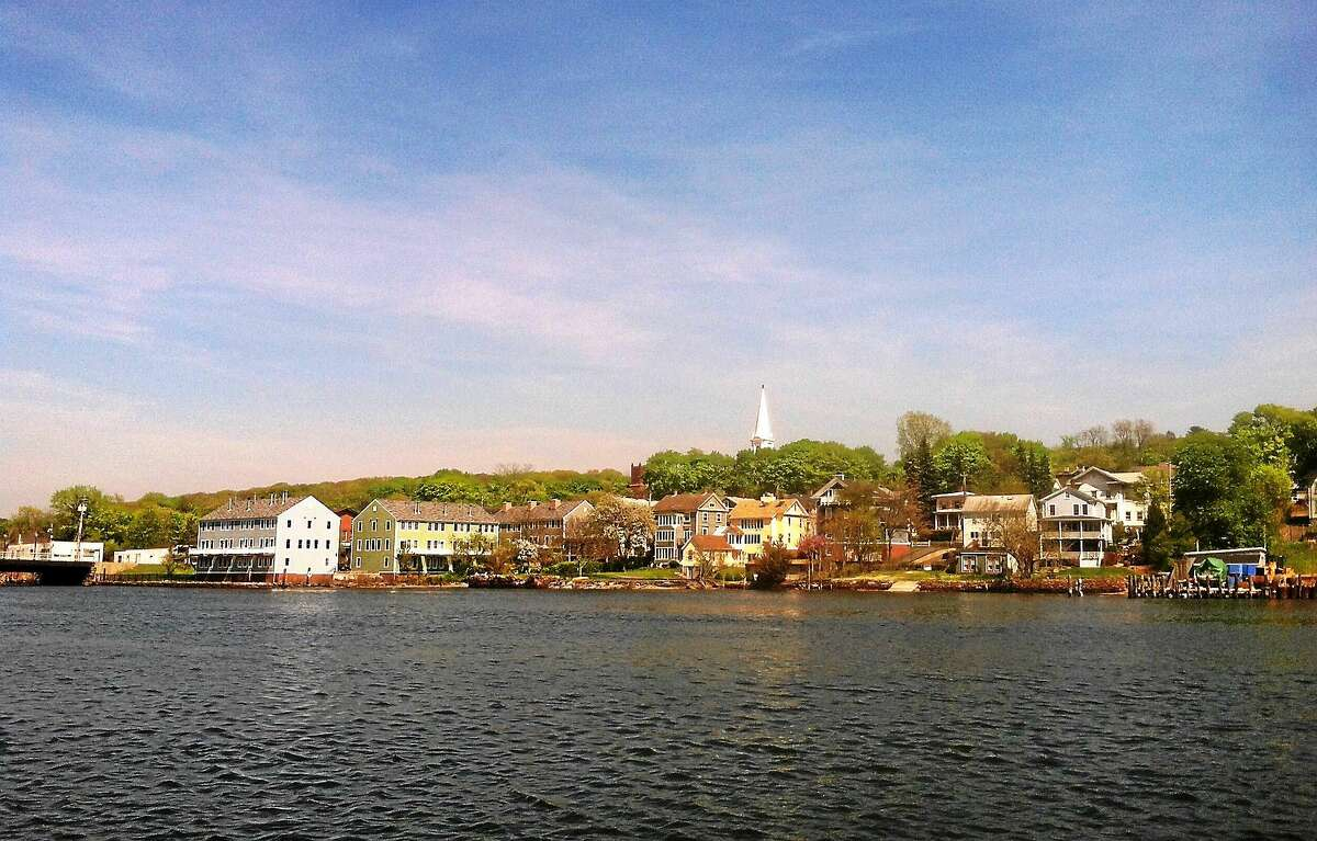 (Helen Bennett - New Haven Register) A view to one of New Haven's natural treasures: the Quinnipiac River