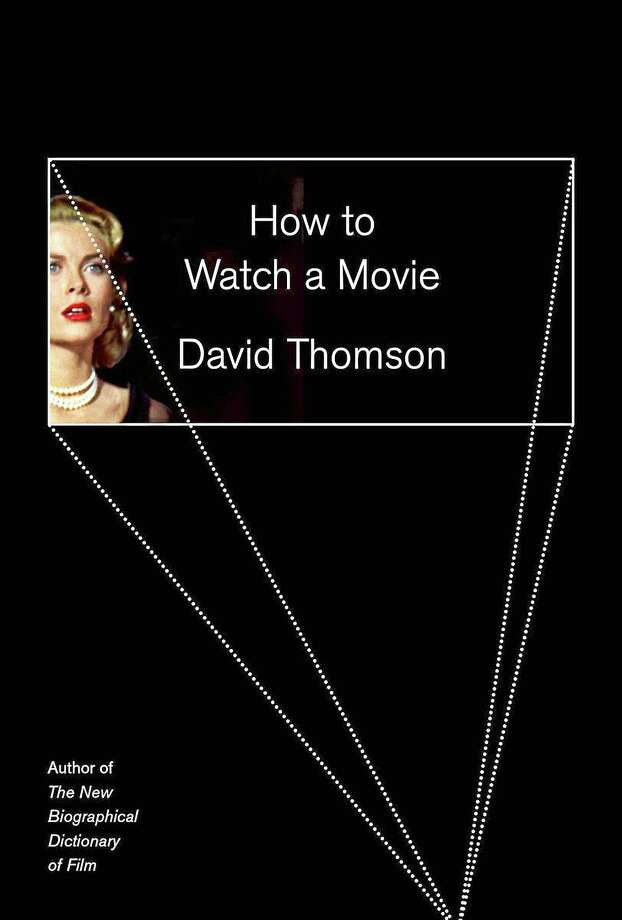 """This image of the cover of the book """"How to Watch a Movie"""" By David Thomson shows actress Grace Kelly in Alfred Hitchcock's """"Rear Window."""" Photo: Journal Register Co."""