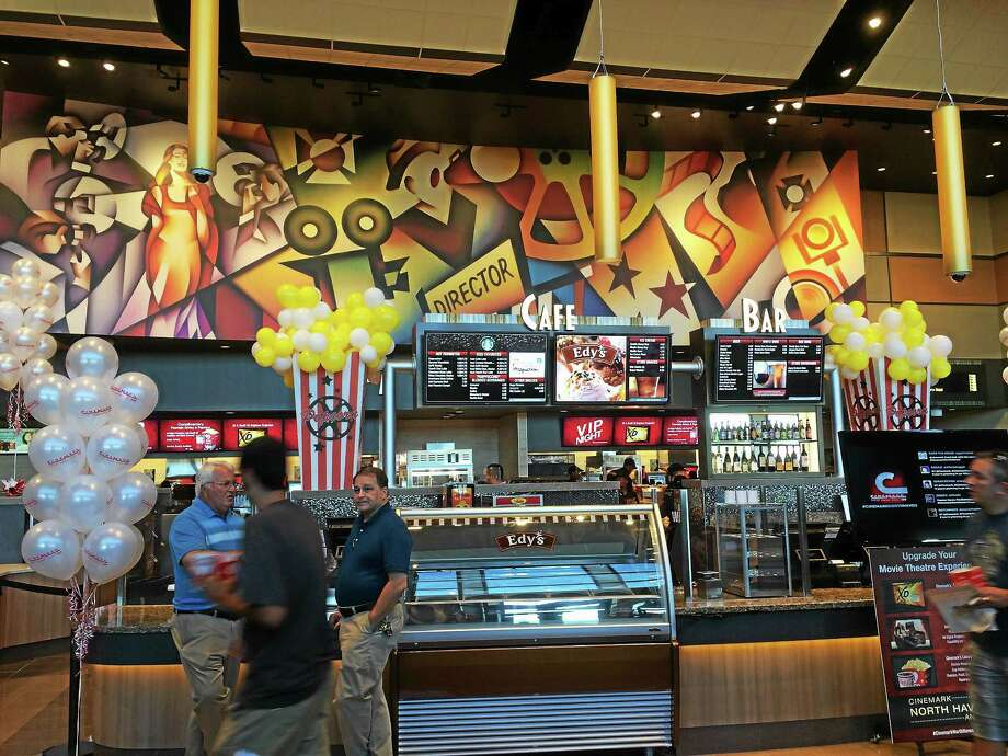The Concession Stand At New North Haven Cinemark Movie Theater Serves