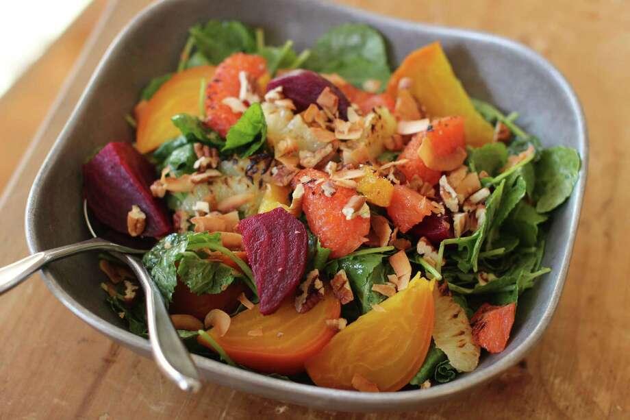 Roasted Beet and Citrus Salad Photo: Matthew Mead - Associated Press   / FR170582 AP