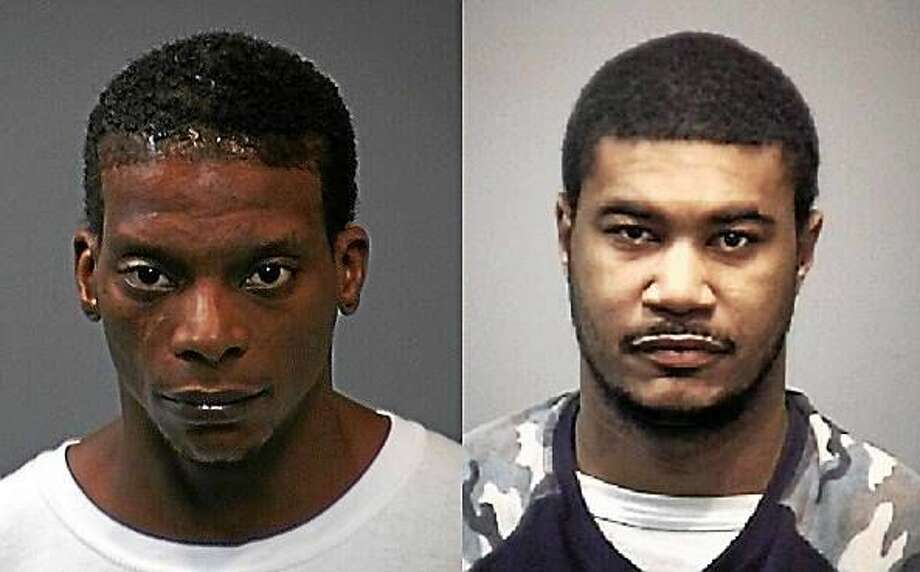 Nathan Johnson and Errie McClendon Photo: New Haven Police Department