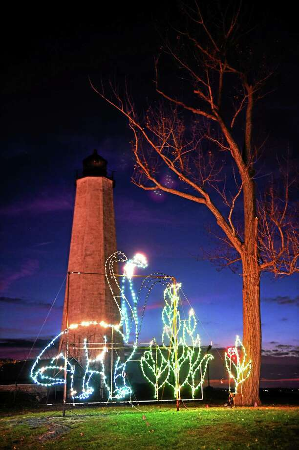 One of last year's Fantasy of Lights displays at Lighthouse Point Park in New Haven. Photo: Peter Hvizdak — New Haven Register File Photo   / ©2014 Peter Hvizdak
