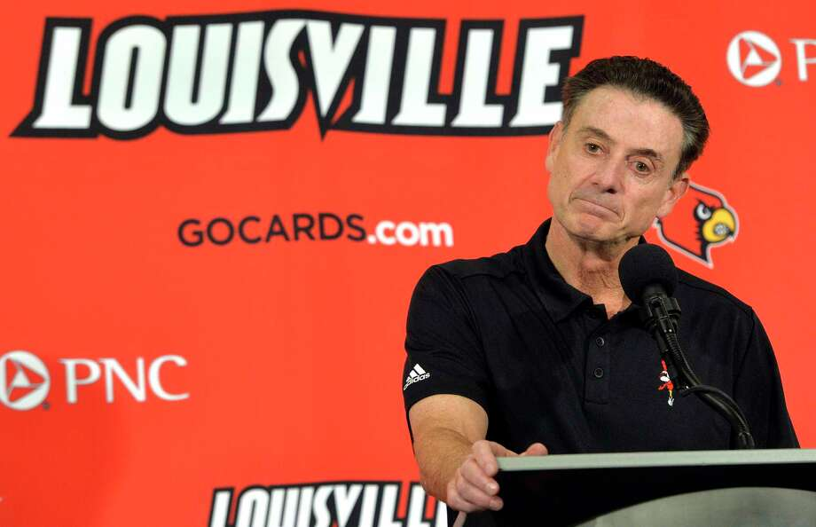 Louisville head coach Rick Pitino has stated that he will not resign. Photo: Timothy D. Easley — The Associated Press File Photo   / FR43398 AP