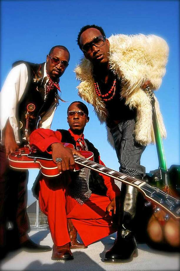 Contributed  From left, D'Wayne Wiggins, Amar Khalil and Tim Riley of Tony, Toni, Tone! Photo: Journal Register Co.