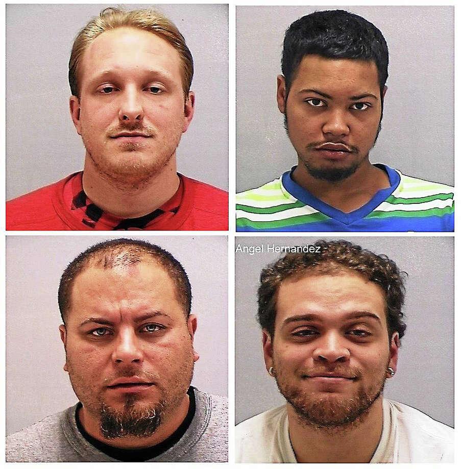 Matthew Sawyer, Joel Martinez, Abner Morales and Angel Hernandez Photo: Photos Courtesy Of The Orange Police Department