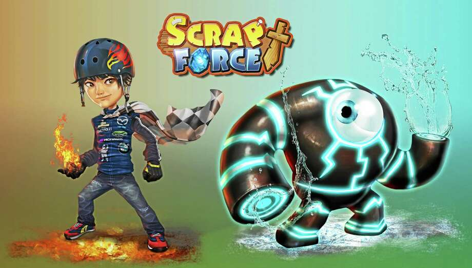 Scrap Force is a new mobile game that will benefit local nonprofit, Love146. Photo: Journal Register Co.