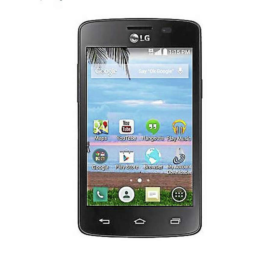 Screenshot of LG Sunrise smartphone via walmart.com Photo: Journal Register Co.